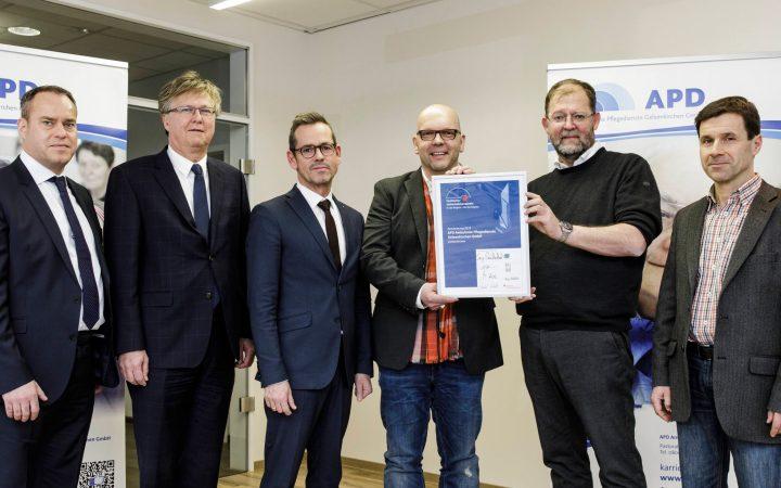 APD für Vestischen Unternehmenspreis 2018 nominiert